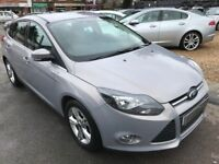 2011/11 FORD FOCUS 1.6 Ti VCT ZETEC 5DR SILVER GOOD SPEC AND ECONOMY,LOOKS & DRIVES WELL