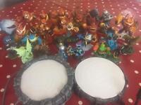 SkyLander figures for Wii £25 ono