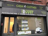 CASH 4 CLOTHES / IBUYER EAST END PARK LEEDS