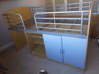 Bed cabin hi-rise