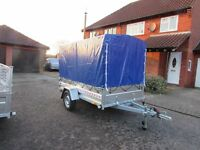 Car box trailer Camping trailer one axle 750kg