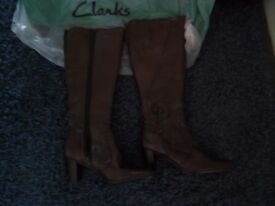 Clarks boots/NEWLY BOUGHT