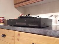 SONY DVD AND VHS PLAYER