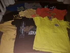 9 boys tshirts (age 4-5)