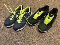 2 pairs of ASICS & Nike trainers US 7 / UK 6 price for both