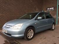 2003 HONDA CIVIC AUTO FULL LEATHER