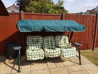 3 Seater Swing Chair with canopy - fabulous condition