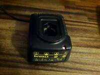 Dewalt DE9107 240v battery charger