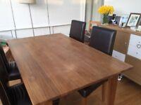 'Marks & Spencer' Oak Extending Dining Table