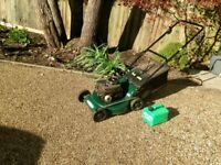 Briggs and Stratton Petrol, 148cc, 4 Stroke Lawn Mower