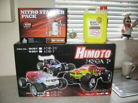 bran new boxed himoto nitro buggy starter pack