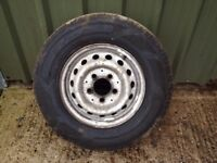MERCEDES SPRINTER 1996-2006 Steel Wheel & Tyre 225 70 15
