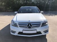 Mercedes Benz C Class 2.1 C220 CDI Sport Edition 125 7G Tronic, Immaculate car & Well looked after