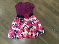 Girls party dress age 8 to 9