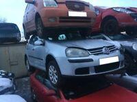 2005 VW GOLF 1.9 DIESEL BREAKING FOR SPARES