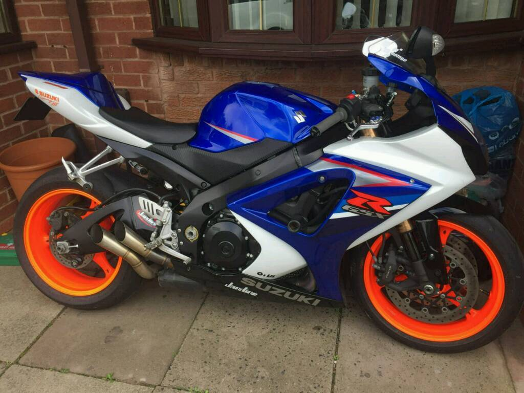 58 suzuki gsxr 1000 k7 gsxr1000 low miles px fireblade. Black Bedroom Furniture Sets. Home Design Ideas