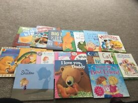 18 mostly new children picture books cost over £100