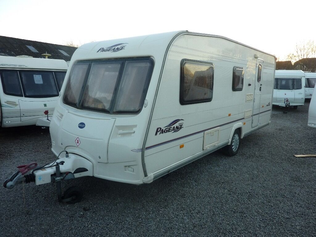 Bailey Pageant Moselle Series 5 Touring Caravan