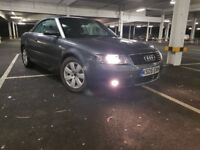 NO OFFER Audi A4 Sport Cabriolet Quattro Convertible Full Red Leather Seat 1.8T 3dr Fsh Hpi Clear