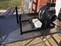 VENT AXIA POWER FLOW ACP100-12B 100mm IN LINE EXTRACTOR UNIT