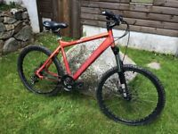 Mountain bike for sale. Saracen Mantra2. 18 inch frame. £50