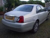saloon rover 75 top of the range 2lt diesal
