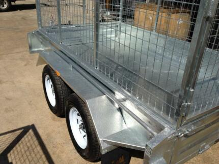 NEW 8 x 5 hot dipped tandem trailer Gympie Gympie Area Preview