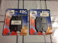 2 x un-opened packs of EBC FA179 high performance motorcycle brake pads