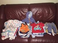 Baby boy Newborn clothes bundle