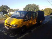 2001 ford transit doublecab flatbed