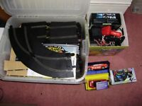 Large Scaletrix set with track and cars, great condition