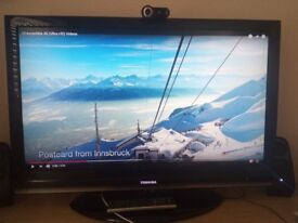 """Toshiba Regza 37"""" great condition. 4 x HDMI & Freeview"""