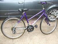 Raliegh ladies bike, uk made well looked after bicycle