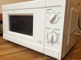 White Microwave, close to new
