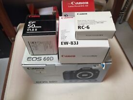 Canon Camera 60D bundle - Immaculate