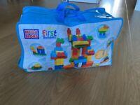 Large bag of Mega Bloks