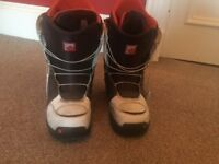 Snowboard Boots Burton Men's UK 8.5 pre owned