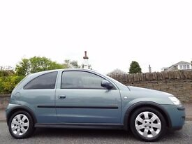 12 MONTH WARRANTY! Ideal 1st Car! (2006) VAUXHALL CORSA 1.2 SXi+ TWINPORT 3dr- VERY Low Mileage- FSH