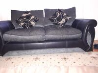 Nearly new DFS 2 seater and 3 seater sofas for sale. £200 for both