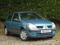 2006 Renault clio campus 1.2 **Very low miles** (fiesta,megane,yaris,ka,focus,207,307,206,corsa,