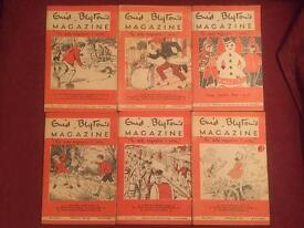 Collection of 25 Enid Blyton magazines dated from 1955-1956. Most in good condition
