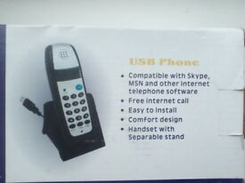 USB phone for internet only £7