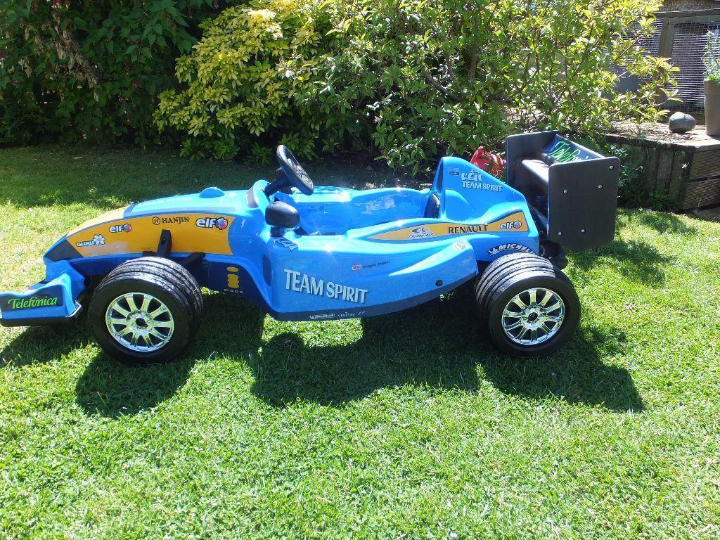 Rare Renault F1 Pedal Car Go Kart In Keynsham Bristol