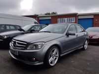TOP SPEC 2010 MERCEDES C250 BLUEF-CY SPORT,AUTOMATIC,2 KEYS,SPARES OR REPAIR,NON RUNNER,07707755411