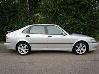Saab 9-3 Aero 2.0 Turbo Hatchback Petrol Full ServiceHistory Leather interior heated seats one owner