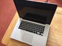"Macbook Pro 15"" 500gig hard drive- Upgraded to 8gig Ram"