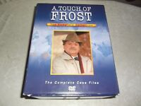 17 disc box set of A Touch Of Frost. Only viewed once, discs are mark free.