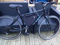 giant escape 3 mens hybrid bike fully serviced