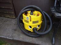 yellow hoover working