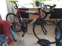Stevens Izoard Lite Road Race Bike, 105 group, mavic ksyrium, 58cm frame, alu/carbon